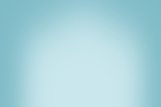 Simple blue vintage gradient abstract background for product or text backdrop design