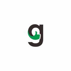 letter g thumb logo