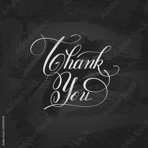 Quot modern calligraphy thank you handwritten lettering
