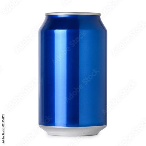 blank blue soda can - photo #11