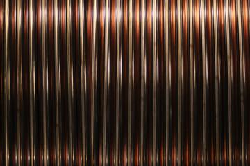 Kupfer blank auf Trommel gerollt