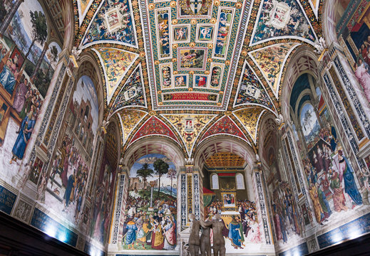 Interial of Siena Cathedral