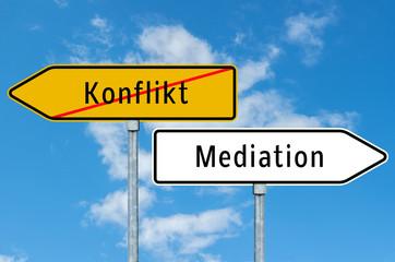 Wegweise Konflikt und Mediation