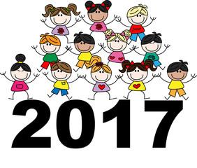 mixed ethnic children 2017