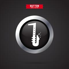 saxophone icon. icon design