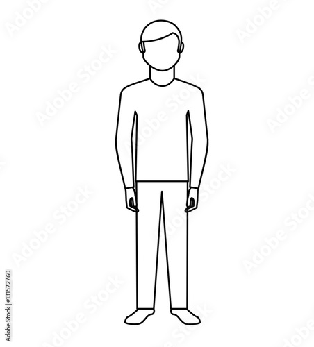 "Avatar 4 2024: ""young Man Avatar Character Vector Illustration Design"