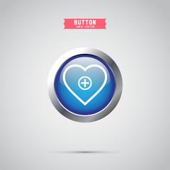 heart medical icon design