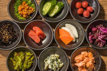 ご飯のおかずセット  Many side dish Japan of the rice