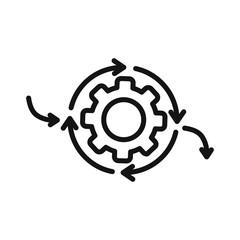 iteration cycle illustration design