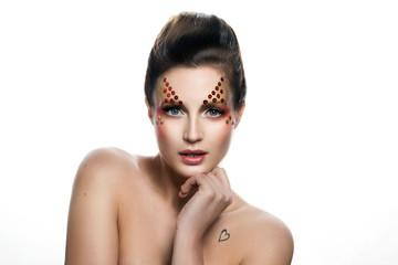 Kreatives Make-up & Styling, Pailletten