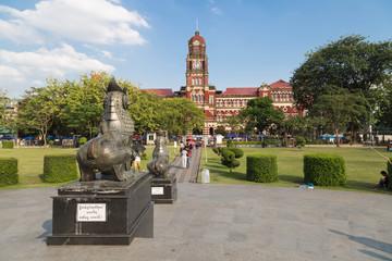 The Yangon High Court Palace, Myanmar