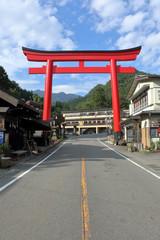 榛名神社の大鳥居