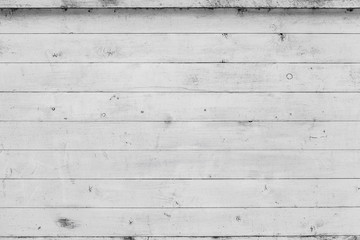 White wooden wall, background texture