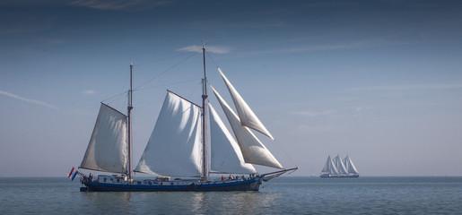 At Lake IJsselmeer - Sailingvessel Gaia