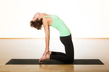 Yoga Ustrasana / Kamel