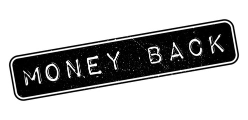 Money Back rubber stamp