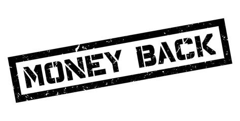 Money Back rubber stamp