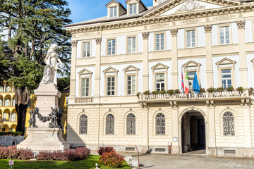 City Palace of Domodossola, Piedmont, Italy