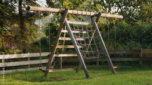Klettergerüst Für Den Garten : Schaukel für garten schön spielturm metall schöne