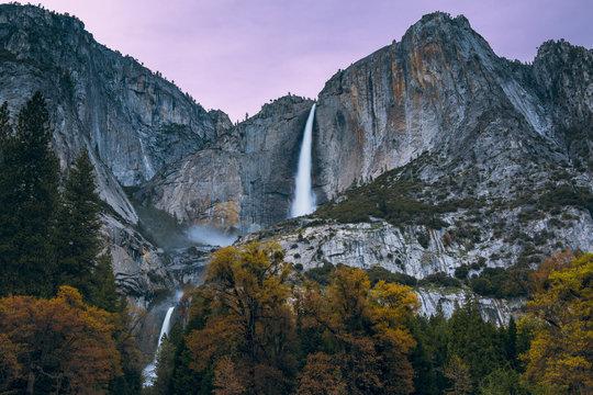 Yosemite Falls (Sunset)