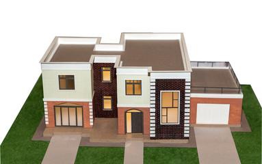 house model 3d