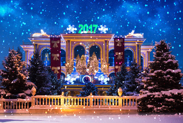 New Year 2017.