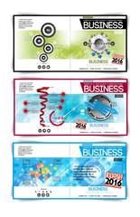 Modern vector abstract brochure