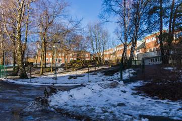 Lummiga skolgården