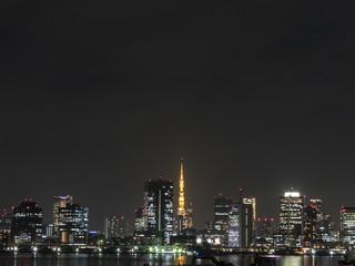 東京湾景(豊洲からの夜景)