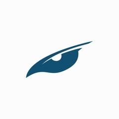 Animal eye logo design