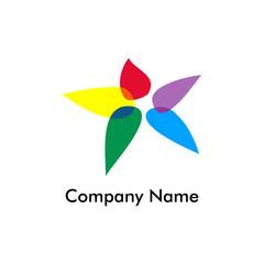 Star Unique Template Logo