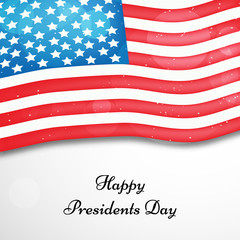 U.S.A Presidents Day background