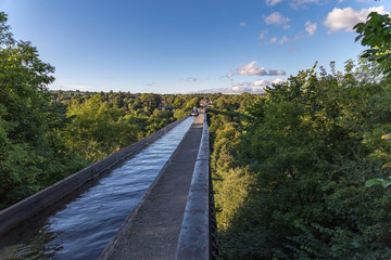 Pontcysyllte Aqueduct, Wrexham, Wales, UK