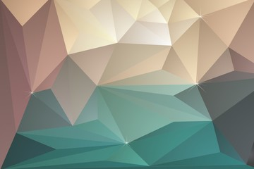 Triangular Geometric Background, Illustration Template
