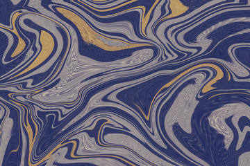 Abstract painted waves stripes pattern background. can be used for background or wallpape