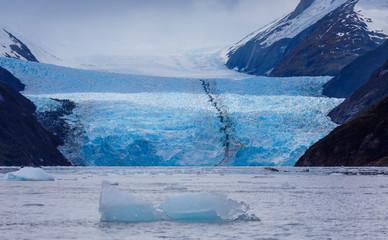 Garibaldi Fjord und Gletscher in Chile