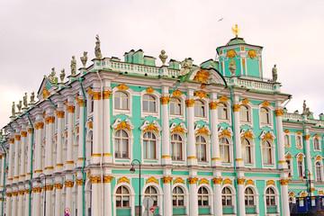 Hermitage museum in Saint-Petersburg, Russia.