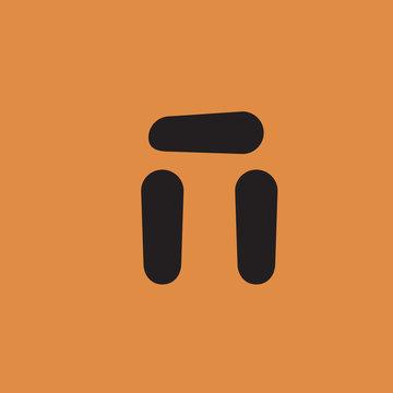 Stonehenge icon. flat design