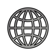 sphere planet isolated icon vector illustration design
