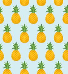Pineapple summer background