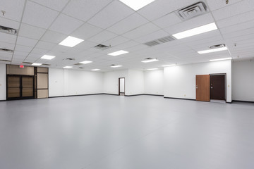 Large old vacant office space