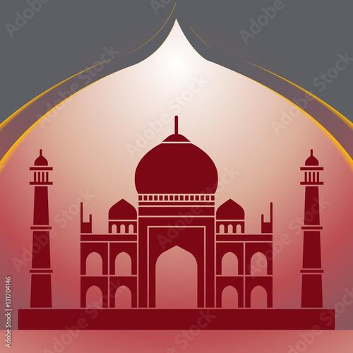 The Tajmahal Tajmahal Taj The Indian Famous Monument Symbol Of