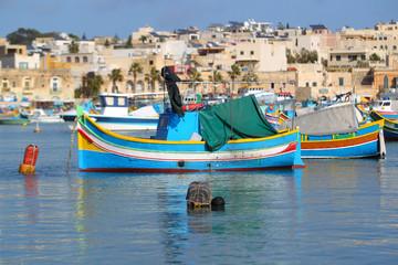 Łodzie rybackie w porcie Marsaxlokk