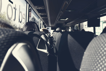 Tourist Bus Interior