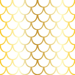 Seamless pattern of yellow squama