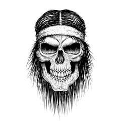 skull head injun
