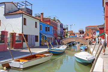 Wall Murals Venice Burano island, Venice, Italy