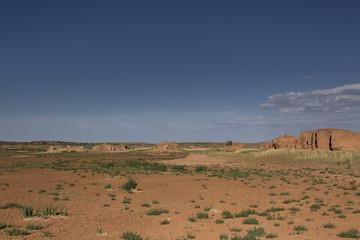 Die Weite der Wüste Gobi