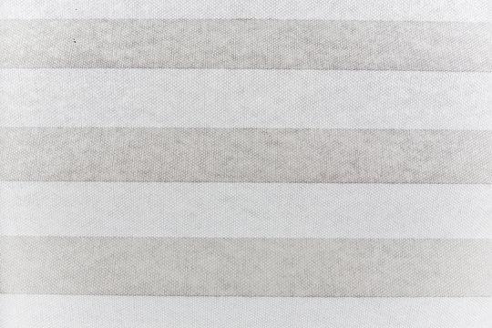 White textile blind window shade