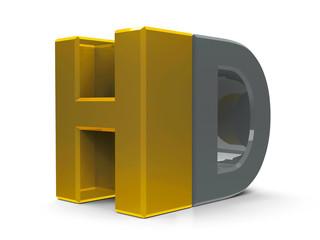 HD icon isometry
